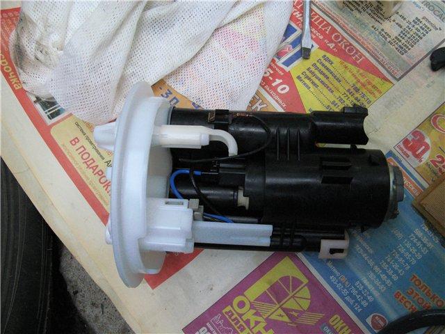 Замена топливного фильтра мицубиси лансер 9 своими руками